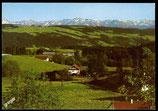 AK Kurort Scheidegg, Blick vom Blasenberg    33-l