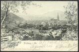 AK Deutsches Reich 1900 Freiburg i. Breisgau 6/33