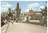 AK Prag, Burg mit Karls-Brücke     51/21
