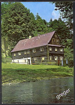 AK Ein Blockhaus in Všemice    x48
