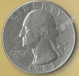 QUARTER DOLLAR  von 1993  - George Washington / Adler  - 1x