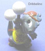 Die Dapsy Dinos Family von 1997   Dribbelino  - mit BPZ  -    2x