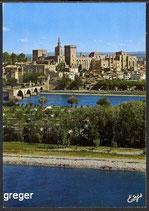 AK  Avignon. Le Pont Saint- Bénézet    58m