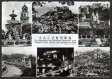 AK Salzburg Mehrbildkarte    v 47