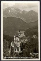 AK Königsburg Neuschwanstein mit Schloß Hohenschwangau 10/42