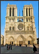 AK Paris, Facade de Notre-Dame    t 11