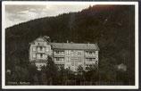 AK Deutsches Reich 1938 Tabarz Thüringen Kurhaus   12/9