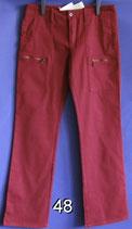 Rote Damenhose Gr. L nicht getragen Nr. 48