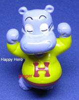 H.H.Hoolywoodstar von 1997  - Happy Hero  - mit BPZ   - 8x