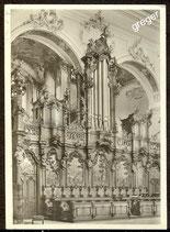 AK Ottobeuren, Basilika, Chorgestühl mit Orgel    74/51