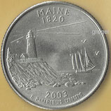 QUARTER DOLLAR - Maine von 2003   - 1x