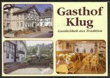AK Werbekarte Gasthof Klug in Steinach, Mehrbild   38/22