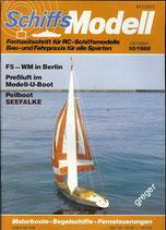 Schiffsmodell 10/88 b  abl