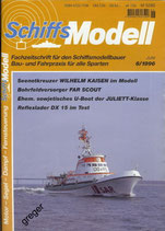 Schiffsmodell 6/96 a