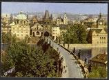 AK Praha Der Altstädter Brückenturm auf der Karlsbrücke    w39