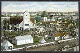 AK München, Gruß vom Oktoberfest, 1909, Löwenbräu und Augustiner Festburg   33/44
