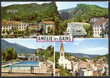 AK Amelie les Bains, Mehrbildkarte    15-o