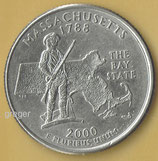 QUARTER DOLLAR Massachusetts von 2000  -   1x