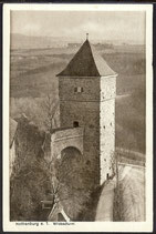 AK Rothenburg o. T. Wildbadturm    5/12