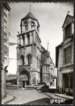 AK  Poitiers, Eglise Ste-Radegonde   68m