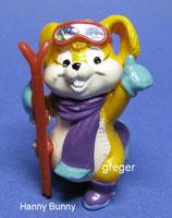 Hanny Bunny´s Lustige Skihasen von 1996  - Hanny Bunny  -  mit BPZ   -  2x
