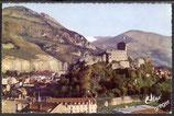 AK Lourdes Le Chateau Fort    42/34