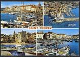 AK Saint-Tropez, Mehrbildkarte    49n