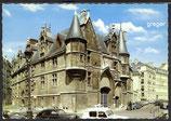 AK Paris, Quartier du Marals: l'Hôtel de Sens    87-o