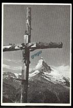 AK Kreuz auf Sunnegga oberhalb Zermatt    62/17