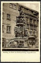 AK Nürnberg,  die Stadt der Reichsparteitage, Tugendbrunnen 8/34