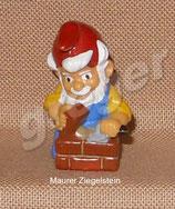 Die Zunft der Zwerge von 1992  - Maurer Ziegelstein  - ohne BPZ   - 2x