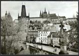 AK Prag Prager Burg mit Karlsbrücke    x25