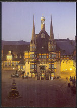 AK  Wernigerode Hist. Rathaus   26/17
