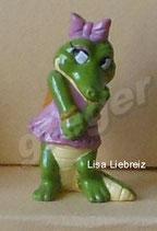 Die Kroko Schule von 1991  - Lisa Liebreiz hell  - ohne BPZ  -   1x