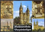 AK Basilika, Vierzehnheiligen, Mehrbildkarte   16m