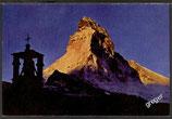 AK Zermatt Sonnenaufgang am Matterhorn    z25