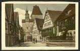 AK Rothenburg o. T Rödergasse    73h