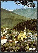 AK Bad Ischl, das Herz des Salzkammerguts, mit Hohem Dachstein, 3004 m    2n