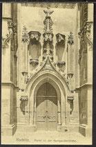 AK Rochlitz, Portal an der Kunigunden Kirche   31/42