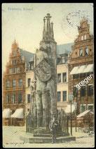 AK Deutsches Reich 1912 Bremen – Roland    5/30