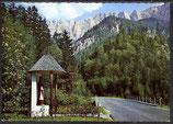 AK  Gesäuse Steiermark, Wegkapelle an der Bachbrücke   28/7
