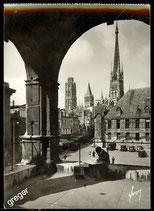 AK Rouen. La Cathédrale vue de la loggia    75-l