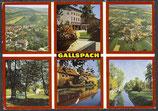 AK Gallsbach, Mehrbildkarte    54/17