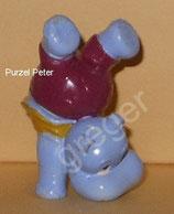Happy Hippos im Fitness Fieber  von 1990  - Purzel Peter  - ohne BPZ  -  1x