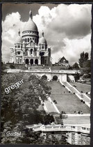 AK Paris, le Sacre-CoeurCœur et les Jardins   40/21
