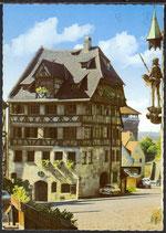 AK Nürnberg , Albrecht-Dürer-Haus     34/7