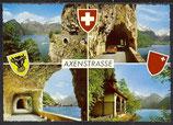 AK Axenstrasse Mehrbildkarte   37/13