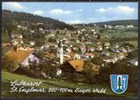 AK St. Englmar bayer. Wald, Panorama  16/17