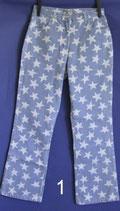 Damen Jeans hellblau mit Sternen, Gr. 36/38  nicht getragen Nr.1