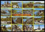AK Mehrbildkarte, der Rhein von Köln bis Rüdesheim   70/17